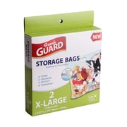 Rebrilliant BPA Free XL Plastic Strong Storage Bags w/ Zipper and Handle (Set of 2)