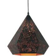 Ivy Bronx Brasel 1-Light Pyramid Mini Pendant