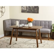 Ivy Bronx Bucci 4 Piece Breakfast Nook Dining Set