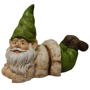 August Grove Nyla Gnome Lying Down Statue