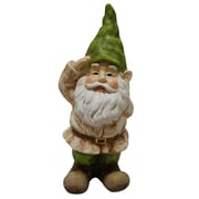 August Grove Nyla Gnome Saluting Statue