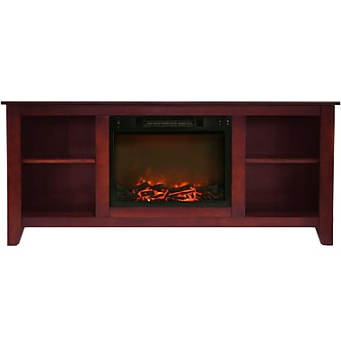 Alcott Hill Brook Hollow Electric Fireplace; Cherry