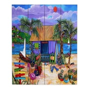 Bay Isle Home 'Island Time' Painting Print Plaque; 24'' H x 20'' W x 1'' D