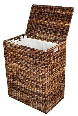 Darby Home Co Abaca Wicker Laundry Hamper