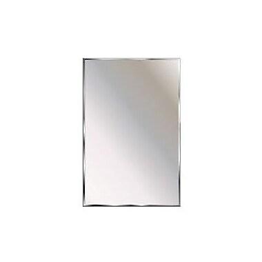 Latitude Run Skiles Theft Proof Wall Mirror; 22'' H x 16'' W x 0.5'' D