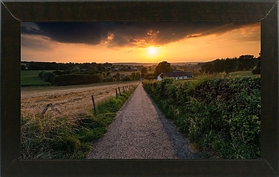 East Urban Home 'Road to Sunset Valley' Photographic Print