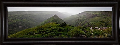 East Urban Home 'Panorama Israel No 1' Photographic Print; Bistro Expresso Framed Paper