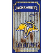Team Sports America NCAA Corrugated Graphic Art Print on Metal; South Dakota State University