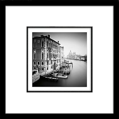 Star Creations ''Canal Grande I'' by Nina Papiorek Framed Photographic Print; 19'' H x 19'' W