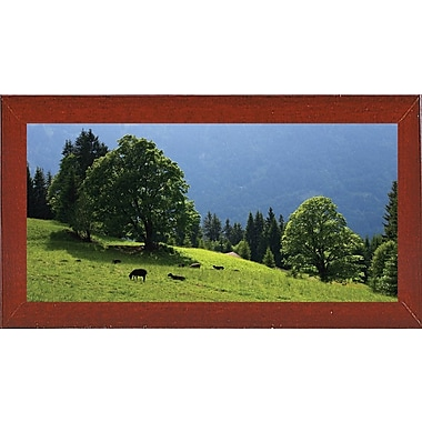 Winston Porter 'Green Mountainscape Cropped' Photographic Print