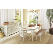 Highland Dunes Allgood Wood Dining Table