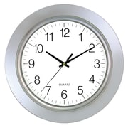 Latitude Run Sigel Chrome Bezel 13'' Wall Clock