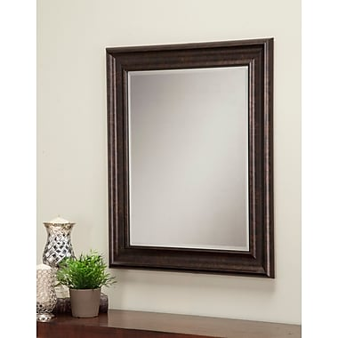 Willa Arlo Interiors Modern Accent Mirror; Oil Rubbed Bronze