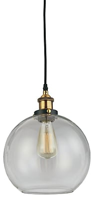 Williston Forge Mabelle 1-Light Globe Mini Pendant