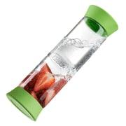 Symple Stuff Glass Flip Infuser Carafe; Green