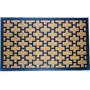 Latitude Run Simcox Cross Doormat; 18'' x 30''