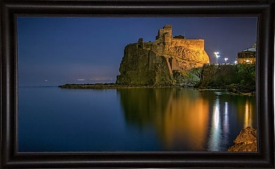 Ebern Designs 'Reflections' Photographic Print; Bistro Expresso Framed Paper