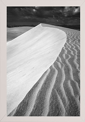East Urban Home 'Sand Wind and Light No 3 Black and White' Photographic Print