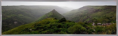 East Urban Home 'Panorama Israel No 1' Photographic Print; White Metal Framed Paper