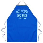 East Urban Home Really Cool Kid Apron in Royal