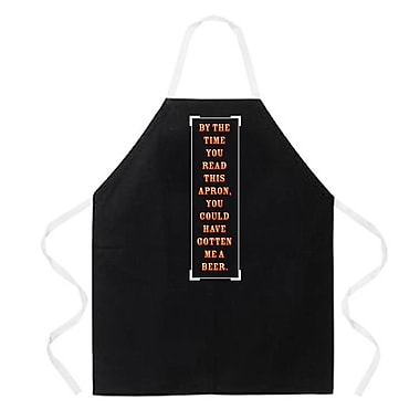 East Urban Home By The Time You Read This Apron