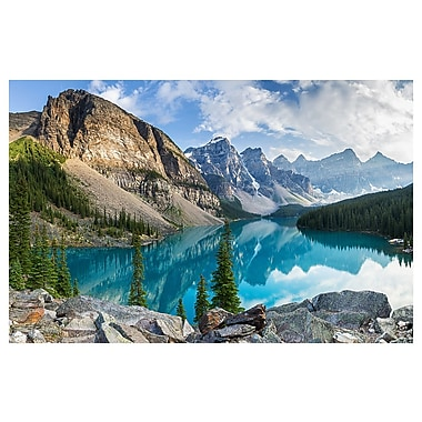 East Urban Home 'Rocky Mountains' Photographic Print