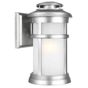 Longshore Tides Ishiro 1-Light Wall Outdoor Lantern; 13'' H x 7.5'' W x 7.5'' D