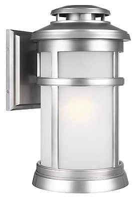 Longshore Tides Ishiro 1-Light Wall Outdoor Lantern; 16'' H x 9.25'' W x 9.25'' D