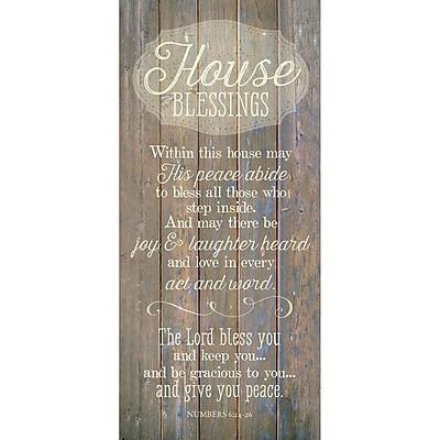 Winston Porter 'House Blessing ' Textual Art Plaque