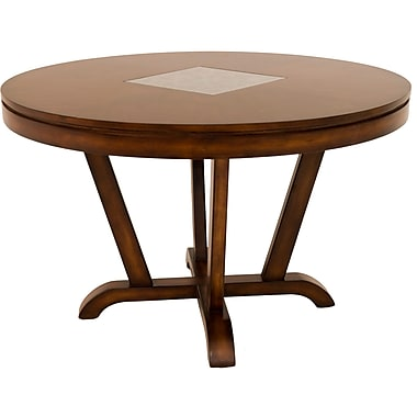 World Menagerie Colan Wood Dining Table