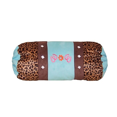 Zoomie Kids Camuto Leopard Bolster Pillow