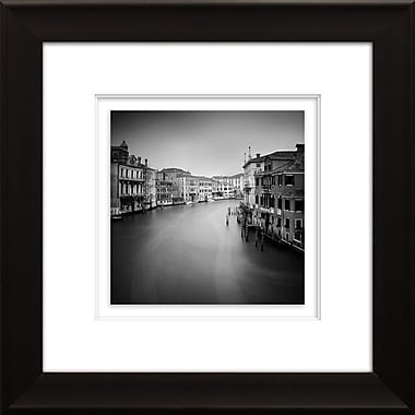 Star Creations ''Canal Grande II'' by Nina Papiorek Framed Photographic Print; 21.75'' H x 21.75'' W