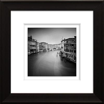 Star Creations ''Canal Grande II'' by Nina Papiorek Framed Photographic Print; 21.75'' H x 21.75'' W