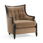 Astoria Grand Exposed Wood Armchair; Camel