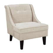 Alcott Hill Gormley Slipper Chair; Cream