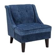 Alcott Hill Gormley Slipper Chair; Azure