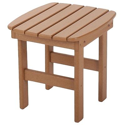 Loon Peak Jaune Side Table; Cedar