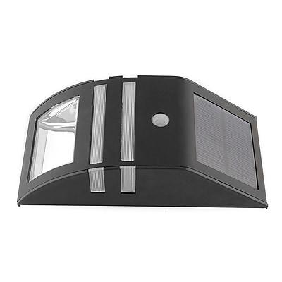 Winston Porter Annapolis 2-Light Outdoor Flush Mount; Black