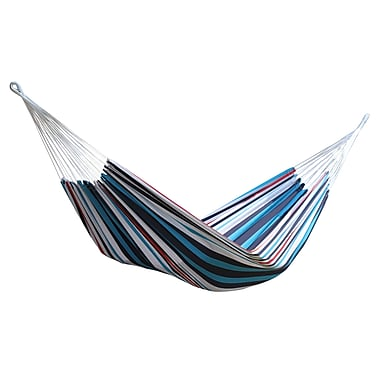 Vivere Single Brazilian Style Hammock, Denim (BRAZ112)
