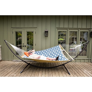 Vivere Double Quilted Fabric Hammock