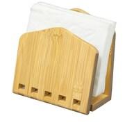 Home Basics Bamboo Expandable Napkin Holder