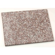 "Home Basics 12"" x 16"" Granite Cutting Board, Brown"