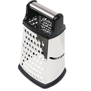 Home Basics Stainless Steel 4 Sided Cheese Grater
