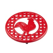 Home Basics Cast Iron Rooster Trivet