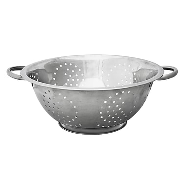 Home Basics Stainless Steel 5 QT Deep Colander