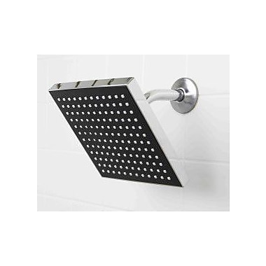 Sunbeam Chrome Jumbo Square Rainfall Shower Head