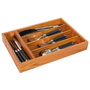Home Basics Pine Cutlery Tray