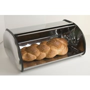 Home Basics Stainless Steel Bread Box, (BB00085)