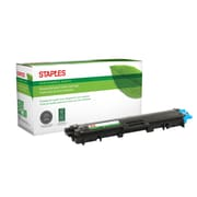 Staples® Sustainable Earth® Reman Toner Brother TN225 Cyan, High Yield (SEBTN225CR)