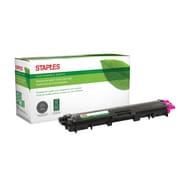 Staples® Sustainable Earth® Reman Toner Brother TN225 Magenta, High Yield (SEBTN225MR)